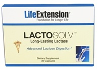Life Extension - LactoSolv Long-Lasting Lactase - 30 Capsules by Life Extension