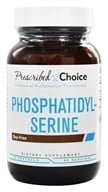 Prescribed Choice - Phosphatidyl-Serine Brain Support 100 mg. - 60 Softgels by Prescribed Choice