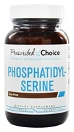 Prescribed Choice - Phosphatidyl-Serine Brain Support 100 mg. - 60 Softgels