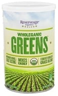 ReserveAge Organics - Wholeganic Greens Superfood Blend - 8.5 oz. by ReserveAge Organics