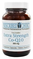 Prescribed Choice - Extra Strength Co-Q10 300 mg. - 30 Vegetarian Capsules by Prescribed Choice