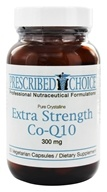 Prescribed Choice - Extra Strength Co-Q10 300 mg. - 30 Vegetarian Capsules - $40.16