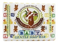Tierra Mia Organics - Raw Goat Milk Skin Therapy Gentle Soap Bar Baby - 4.2 oz. (736211248046)