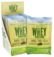 Image of ReserveAge Organics - Grass-Fed Whey Protein Chocolate - 10 x 1 oz. Packets