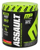 Muscle Pharm - Assault Athletes Pre-Workout System Fruit Punch - 0.64 lb.