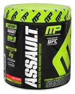 Image of Muscle Pharm - Assault Athletes Pre-Workout System Fruit Punch - 0.64 lb.