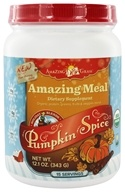 Amazing Grass - Amazing Meal Powder Holiday Blend 15 Servings Pumpkin Spice - 12.1 oz. by Amazing Grass