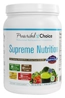Prescribed Choice - Supreme Nutrition Greens Drink Mix - 1.2 lbs. by Prescribed Choice
