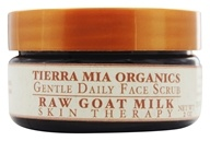 Tierra Mia Organics - Raw Goat Milk Skin Therapy Gentle Daily Face Scrub - 2 oz.