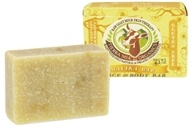 Tierra Mia Organics - Raw Goat Milk Skin Therapy Face & Body Soap Bar Malika - 4.2 oz. (736211247742)