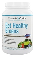 Prescribed Choice - Get Healthy Greens Whole Food Drink Mix - 1.4 lbs. by Prescribed Choice
