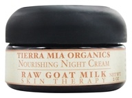 Tierra Mia Organics - Raw Goat Milk Skin Therapy Nourishing Night Cream - 2 oz. by Tierra Mia Organics