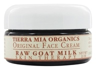 Tierra Mia Organics - Raw Goat Milk Skin Therapy Original Face Cream - 2 oz. - $29.99