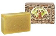 Image of Tierra Mia Organics - Raw Goat Milk Skin Therapy Body Soap Bar Exfoliating Almond Coffee - 4.2 oz.