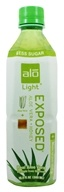 ALO - Original Aloe Drink Exposed Light Aloe Vera + Honey - 16.9 oz. by ALO