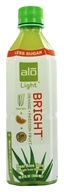 Image of ALO - Original Aloe Drink Bright Light Aloe Vera + Orange + Passion Fruit - 16.9 oz.