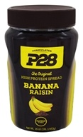 Image of P28 - High Protein Spread Banana Raisin - 16 oz.