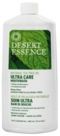 Image of Desert Essence - Natural Tea Tree Oil Ultra Care Mouthwash Mega Mint - 16 oz.