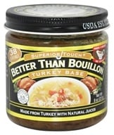 Better Than Bouillon - Turkey Base - 8 oz., from category: Health Foods