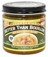 Better Than Bouillon - Vegetarian No Chicken Base - 8 oz. (098308225812)