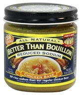 Better Than Bouillon - Chicken Base Reduced Sodium - 8 oz. by Better Than Bouillon