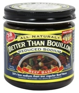 Better Than Bouillon - Beef Base Reduced Sodium - 8 oz. (098308227731)
