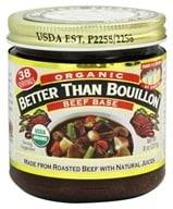 Better Than Bouillon - Beef Base Organic - 8 oz.