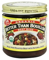 Better Than Bouillon - Beef Base Organic - 8 oz. (098308002833)