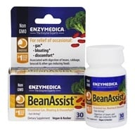 Enzymedica - Bean Assist Gas & Bloating Relief - 30 Capsules, from category: Nutritional Supplements