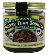 Better Than Bouillon - Vegetable Base Organic - 8 oz., from category: Health Foods