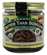 Better Than Bouillon - Vegetable Base Organic - 8 oz. (098308002826)