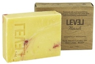 Image of Level Naturals - Bar Soap Grapefruit Bergamot - 6 oz.