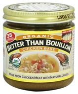 Better Than Bouillon - Chicken Base Organic - 8 oz., from category: Health Foods