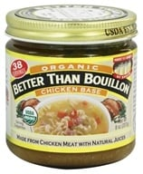 Better Than Bouillon - Chicken Base Organic - 8 oz. (098308002802)