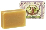 Image of Tierra Mia Organics - Raw Goat Milk Skin Therapy Body Soap Bar Lavender - 4.2 oz.