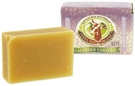 Image of Tierra Mia Organics - Raw Goat Milk Skin Therapy Body Soap Bar Lavender Vanilla - 4.2 oz.