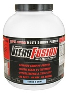 NitroFusion - Multi Source Protein Cookies N' Creme - 5 lbs., from category: Health Foods