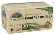 If You Care - Certified Compostable Food Waste Bags - 30 Bags (770009250644)