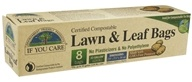 Image of If You Care - Certified Compostable Lawn & Leaf Bags - 8 Bags