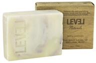 Level Naturals - Bar Soap White Lavender - 6 oz. (753182775593)