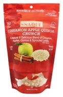 The Perfect Snaque - Cinnamon Apple Quinoa Crunch - 5 oz., from category: Health Foods