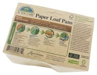 If You Care - Paper Loaf Pans Unbleached Totally Chlorine-Free (TCF) - 4 Pans by If You Care