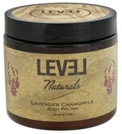 Image of Level Naturals - Body Polish Lavender Chamomile - 16 oz.