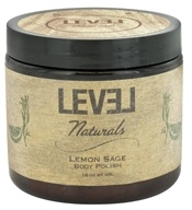 Level Naturals - Body Polish Lemon Sage - 16 oz. by Level Naturals