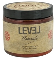 Level Naturals - Body Polish Peppermint - 16 oz. (753182775135)