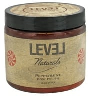 Level Naturals - Body Polish Peppermint - 16 oz. by Level Naturals