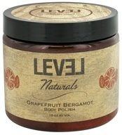 Level Naturals - Body Polish Grapefruit Bergamot - 16 oz., from category: Personal Care