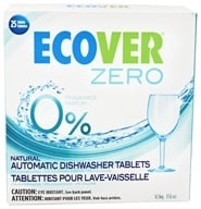 Image of Ecover - Ecological Automatic Dishwasher Tablets Zero 25 Loads - 17.6 oz.
