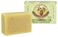 Tierra Mia Organics - Raw Goat Milk Skin Therapy Body Soap Bar Spearmint Sage - 4.2 oz.