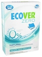 Ecover - Ecological Laundry Powder Zero 20 Loads - 48 oz.